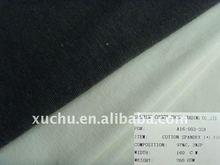 97%cotton 3%spandex 1x1 cotton rib knit fabric