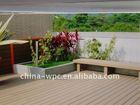 outdoor composite wood plastic decking floor