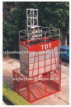 SC120 single cage hoist