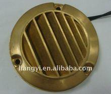 High power LED brass outdoor wall light