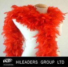 Decorative Dyed Turkey Chandelle Feather boa