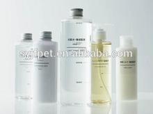 HOT!!! 2012 pet plastic NEW fashion coametic lotion pump bottle 200ml6.7oz