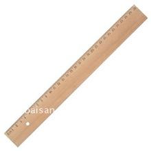 30cm measure wooden ruler custom wooden rulers