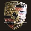 porcelana do emblema do carro 3d