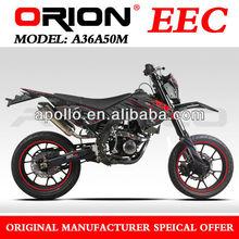 China Apollo Orion EEC 50cc Enduro On Road Motorcycle Street Bike(A36A50M New 17/17)
