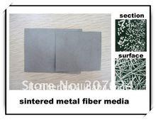 sintered metal filter felt for polymer filtration