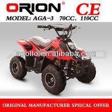 China Apollo ORION CE mini quad 70cc kids atv 70cc Model AGA-3