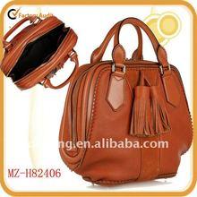 2013 hot selling stylish genuine leather brand handbags