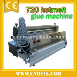 Hotmelt glue machine/720 glue coating machine/stick paper machine
