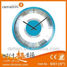 metal quartz skeleton clock