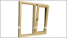 European Style pvc tilt and turn window