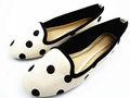 Estilo ballet comimpressão das senhoras novo estilo de sapatos tw-b0458