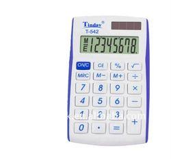 promotion mini pocket dual power 8 digits plastic calculator