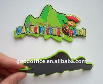 Scenery Design ,3D rubber fridge magnet with embossed logo