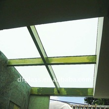 3-19mm glass roof