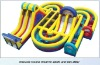 Adrenaline Rush Extreme Inflatable Obstacle Course for Kids&Adults