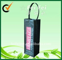 Polypropylene wine carrier for 1 bottle non woven wine bags