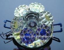 Recessed crystal spotlight& crystal spot light