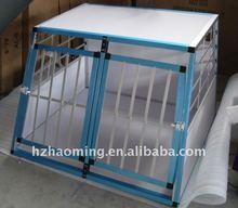 Alu dog cage house