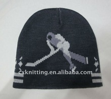 knitted ski sport winter hats