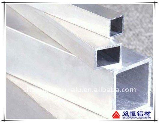 Mulino finitura/anodizzato quadrato di alluminio tubi-Tubi d`alluminio-Id prodotto:493687720 ...