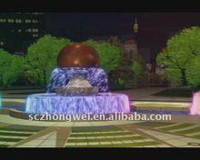 Stone Fengshui Ball Water Fountain