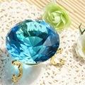 exquisite blauen kristall hochzeit braut geschenke für dekoration