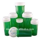 medical vials reversible plastic medication vials