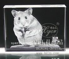Lifelike 3d laser Crystal Animal Craft Art Collection