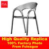 White Plastic Lounge Chair FXP001