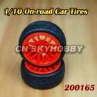 1/10 On-road Car Tires for Remote Control Car & Truck, Radio Control Toys
