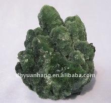 Verde bonito conjuntos de cristal cura natural de cristal cluster cristal cluster uva