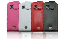 Cell phone protector genuine leather phone case for nokia C5-03
