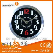 aluminium desk&wall clock