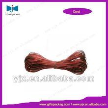 colored metallic yarn used in gifts decorative