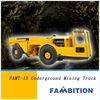 12t china articulated heavy 4wd trackless underground mining transport dump truck