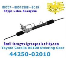 Hydraulischen toyota corolla ae100 servolenkgetriebe 44250-12290/44250-02010