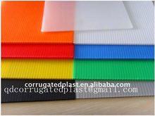 Colorful Polypropylene PP Corrugated Plastic Sheet