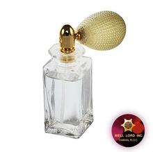 High quality snap in with Bulb Air Pump Perfume bottle
