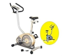 YD-6817 Yellow and white Magnetic bike & Fitness equipment