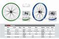 """Mingtai mtsc32s bmx mt620 roda de bicicleta aro de liga 20"""" x1.95inch 32h oxidação 6061-t6 alumínio"""