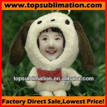 DIY toy-3d face doll-12cm dog