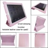 Flip Foldable Stand Leather Case for iPad 4