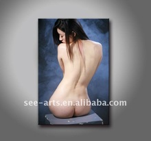 sexy nude chinese girl oil painting on canvas
