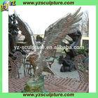 outdoor large metal eagle sculpture BAS-D165