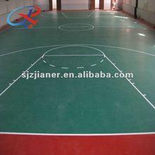 PVC antiskid Basketball Plastic Sports Court