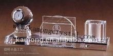 Creative classics crystal pen desk set