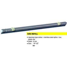 KR6 wiper refill,wiper blade refill,wiper blade rubber