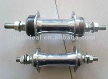 disc brake bicycle chrome hubs