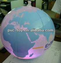 fashionable inflatable glowing ball beach ball